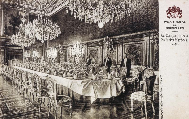 Palais royal entre magnificience et faste actualit for Meilleur salon de coiffure bruxelles